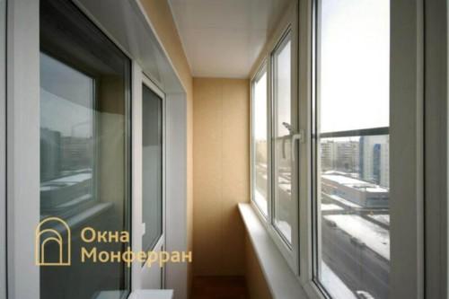 010 Отделка балкона в 137 серии, ул. Олеко Дундича