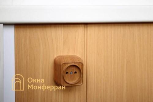 015 Отделка балкона под ключ в 137 серии, ул. Маршала Захарова