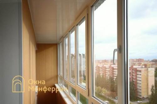 016 Отделка балкона под ключ в 137 серии, ул. Маршала Захарова