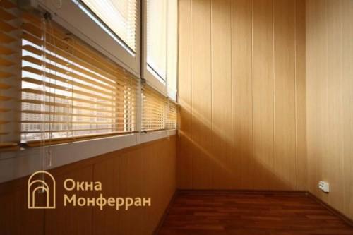 017 Отделка балкона, пр. Ленинский