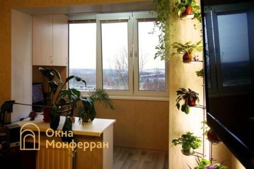 020 Объединение балкона с комнатой, ул. Будапештская