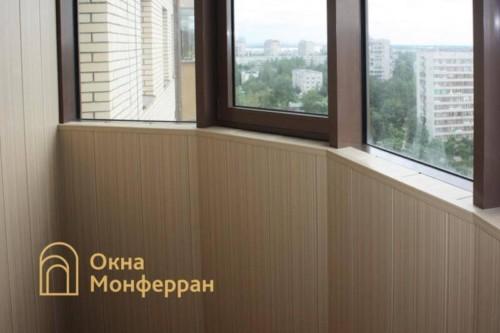 023 Отделка балкона, ул. Бутлерова