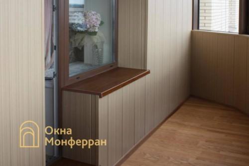 025 Отделка балкона, ул. Бутлерова