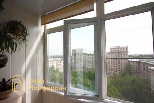 034 Отделка балкона в сталинке, ул. Свеаборгская