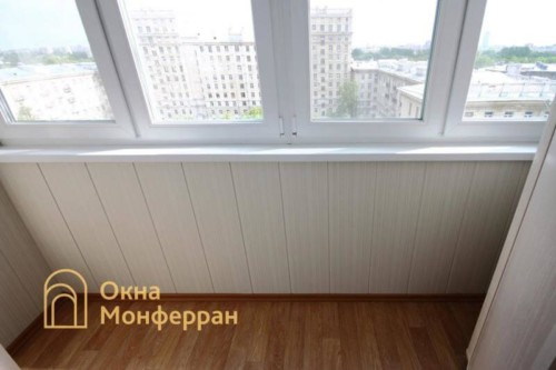 039 Отделка балкона в сталинке, ул. Свеаборгская