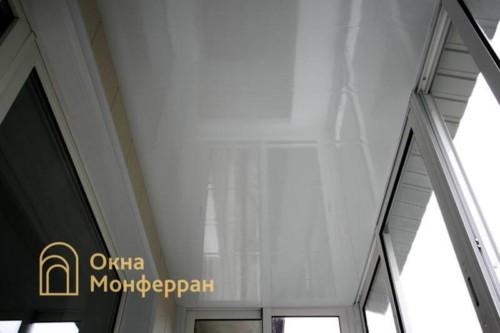 042 Отделка балкона с выносом, пр. Юрия Гагарина