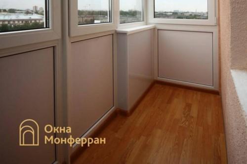 044 Отделка балкона, ул. Ольминского