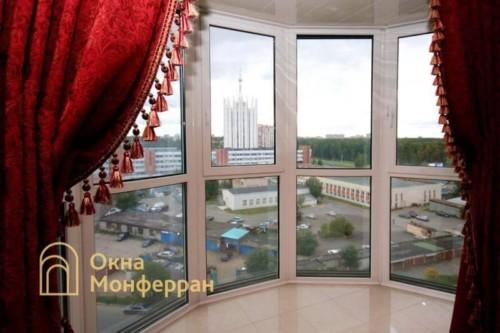 045 Отделка балкона, пр. Тихорецкий