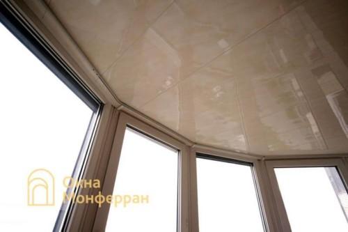 046 Отделка балкона, пр. Тихорецкий