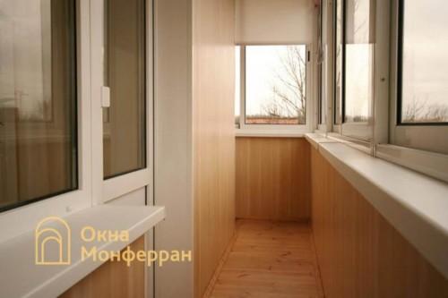 047 Отделка углового балкона, ул. Лени Голикова