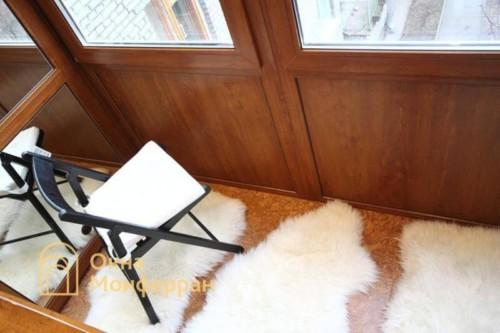 055 Отделка балкона пробкой, пр. Новоизмайловский