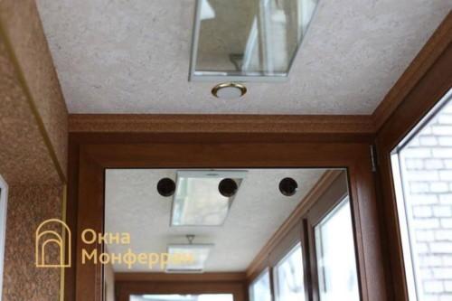 056 Отделка балкона пробкой, пр. Новоизмайловский