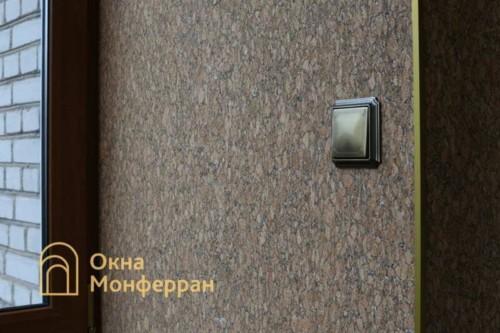 058 Отделка балкона пробкой, пр. Новоизмайловский