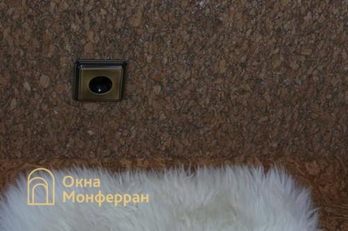 059 Отделка балкона пробкой, пр. Новоизмайловский