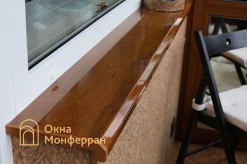 060 Отделка балкона пробкой, пр. Новоизмайловский