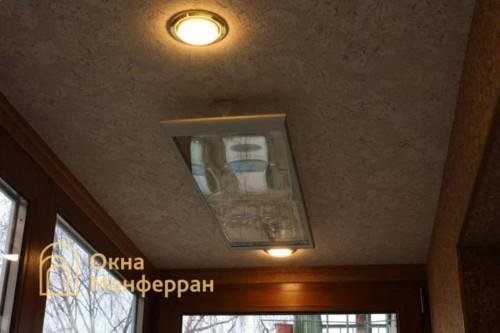 061 Отделка балкона пробкой, пр. Новоизмайловский