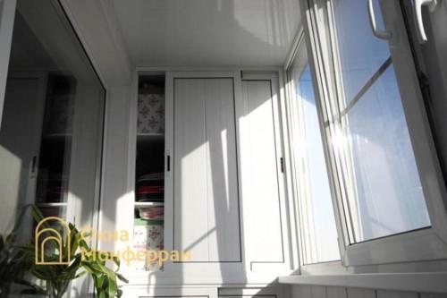 064 Отделка балкона в 606 серии, пр. Луначарского