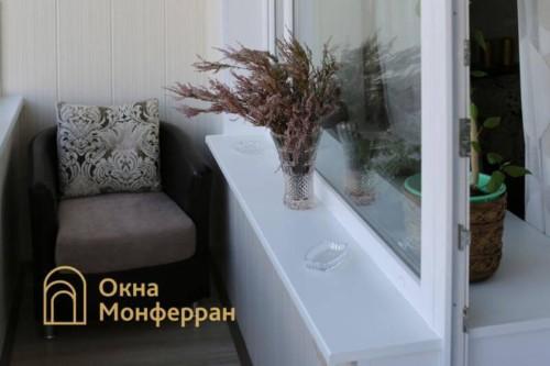 078 Отделка углового балкона, пр. Гражданский