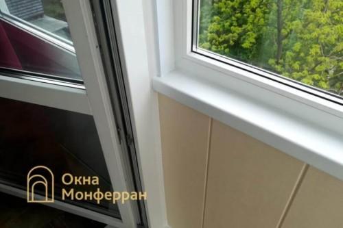 086 Отделка балкона