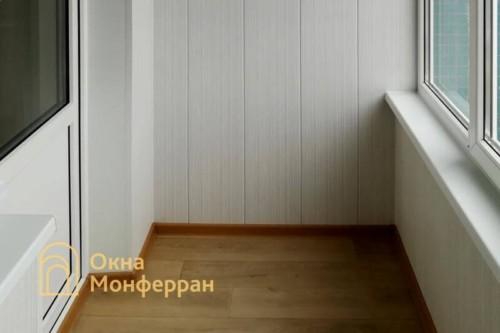 090 Отделка лоджии в 504 серии под ключ, ул. Будапештская