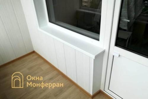093 Отделка лоджии в 504 серии под ключ, ул. Будапештская