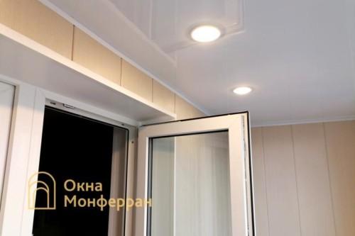 096 Отделка балкона, пр. Сизова