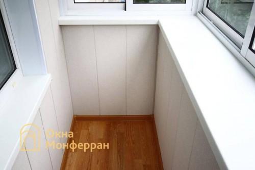04 Отделка балкона с выносом перил пр Юрия Гагарина