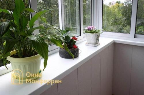 05 Отделка балкона с выносом перил пр Юрия Гагарина