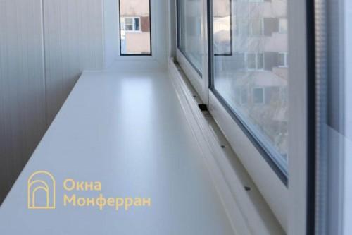 09 Отделка балкона с выносом подоконника пр Науки