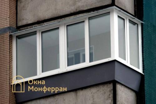 11 Остекление балкона с выносом в 137 серии пр Пятилеток
