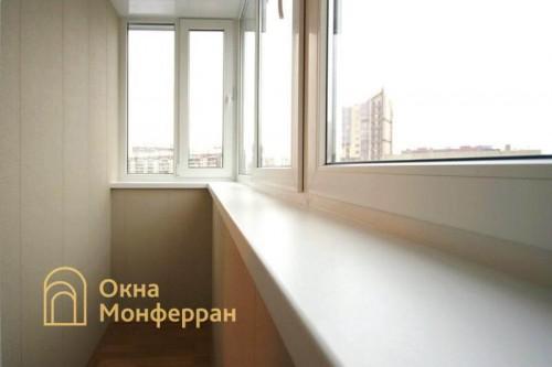 12 Остекление балкона с выносом в 137 серии пр Пятилеток