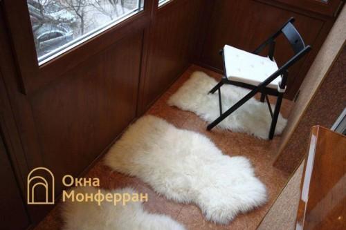 15 Отделка балкона с выносом пола пр Новоизмайловский