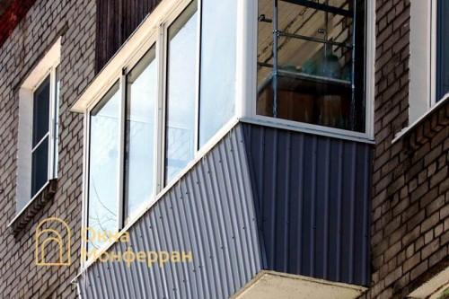 27 Балкон с выносом в хрущевке ул Дивенская