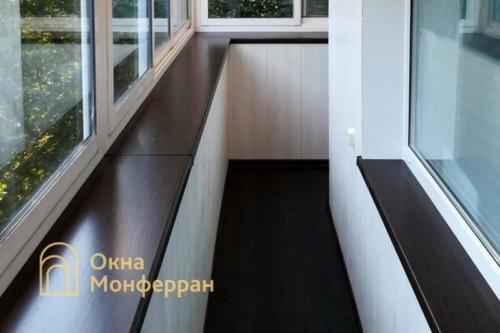 31 Остекление балкона с выносом подоконника, пр. 2-ой Муринский