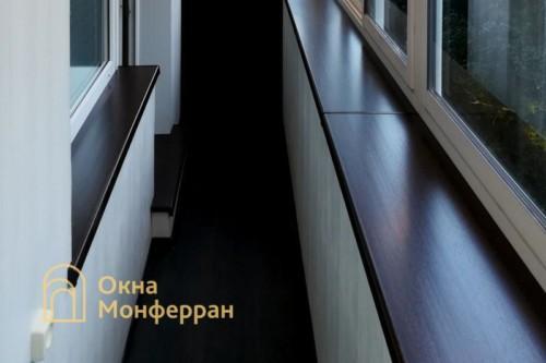 32 Остекление балкона с выносом подоконника, пр. 2-ой Муринский