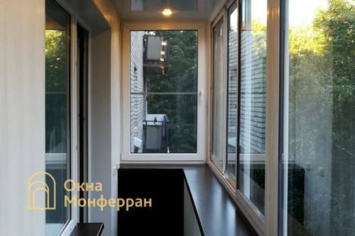 33 Остекление балкона с выносом подоконника, пр. 2-ой Муринский