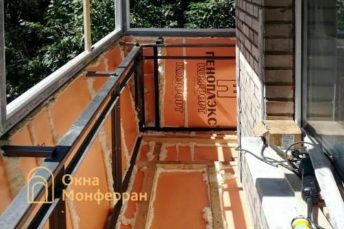 07 Утепление балкона пеноплексом