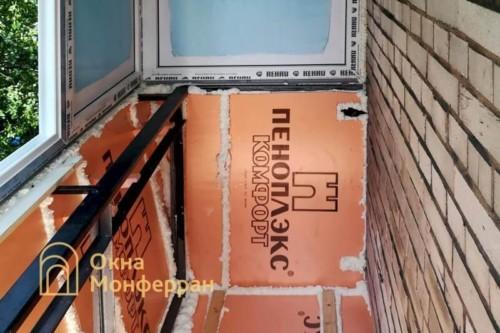08 Утепление балкона пеноплексом