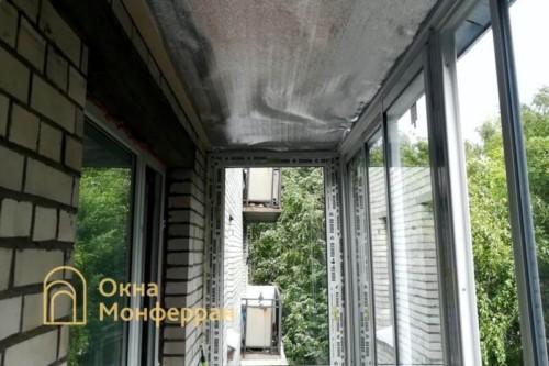 10 Утепление балкона алюфомом