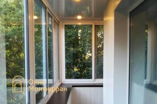 12 Отделка балкона с выносом