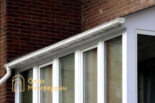 04 Остекление балкона с крышей ул Сикейроса
