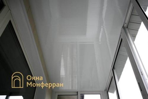 19 Отделка балкона с крышей пр. Юрия Гагарина