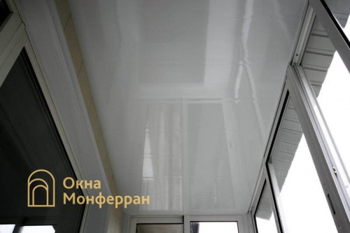 19 Отделка балкона с крышей пр Юрия Гагарина