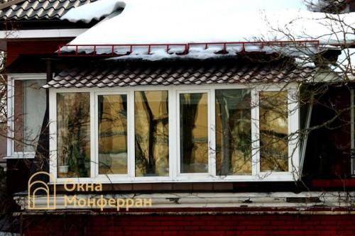 24 Балкон с крышей г. Павловск