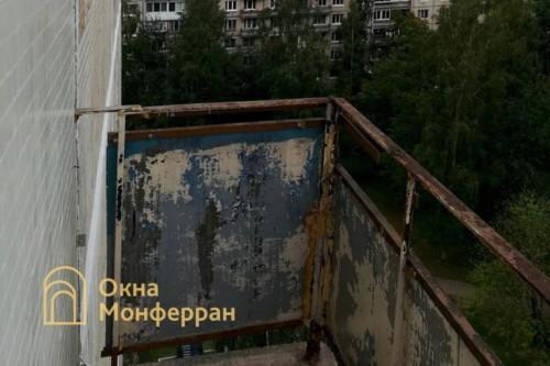 02 Балкон в 504 серии до выполнения работ