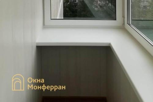 11 Отделка балкона с выносом