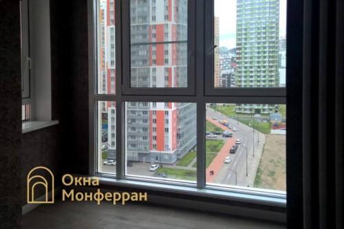02 Замена холодного фасадного остекления на теплое, гор. Кудрово