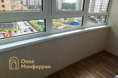 05 Замена холодного фасадного остекления на теплое, ЖК Академ-Парк