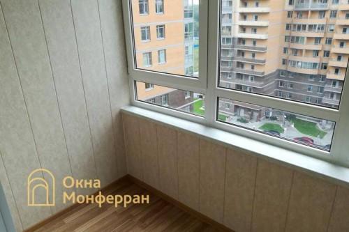 08 Замена холодного фасадного остекления на теплое, ЖК Академ-Парк