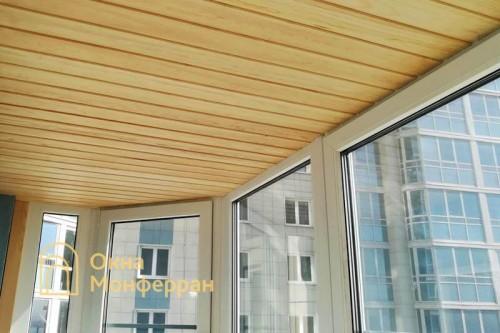 10 Замена холодного фасадного остекления на теплое ЖК Капитан Немо